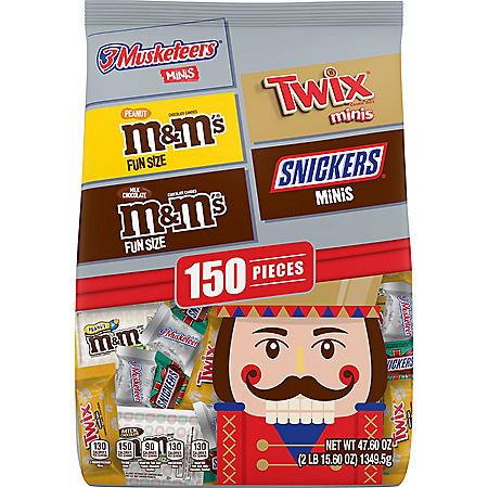 Mars Halloween Fun Size Candy Mad Scientist Bag (94.8oz.)