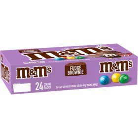 M&M's Fudge Brownie Candy (1.41oz. / 24pk.)