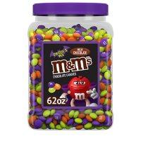 M&M'S Milk Chocolate Ghoul's Mix Bulk Halloween Candy Resealable Jar (62 oz.)