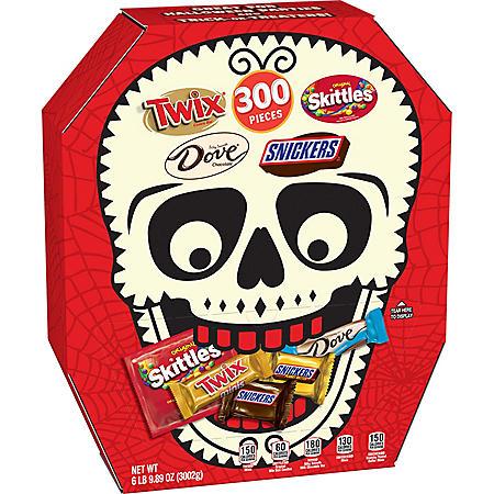 Mars Mini Size Halloween Skull Box Candy Variety Mix (105.89oz.)