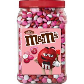 M&M'S Milk Chocolate Valentine Candy, Cupid's Mix (62 oz.)