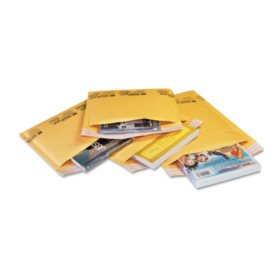 Sealed Air Jiffylite Self-Seal Mailer - Contemporary Seam - 6 x 10 - Golden Brown - 200 Pack
