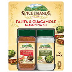 Spice Islands Fajita Marinade and Guacamole Seasoning (2 pk.)