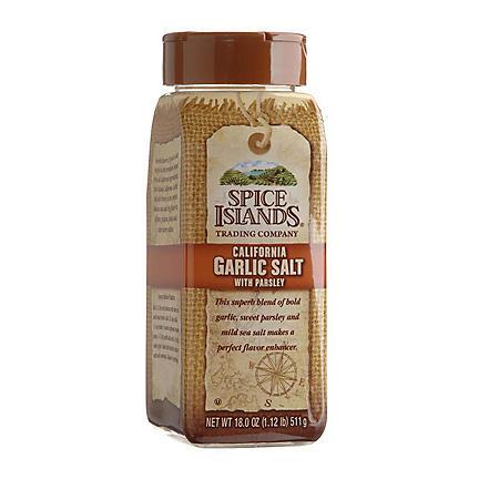 Spice Islands® Garlic Salt w/Parsley - 18 oz - Sam's Club