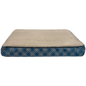 """Cozy Pet Deluxe Orthopedic Pet Bed, 26"""" x 37"""" (Various Colors)"""