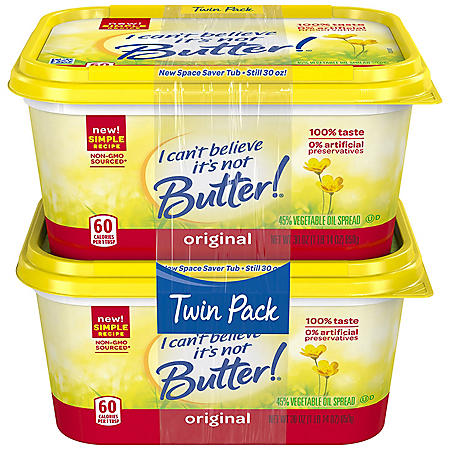 I Can't Believe It's Not Butter (30 oz., 2 pk.)