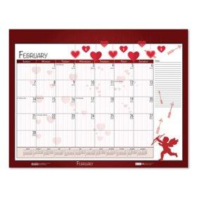 House of Doolittle Earthscapes Seasonal Desk Pad Calendar, 18.5 x 13, 2021