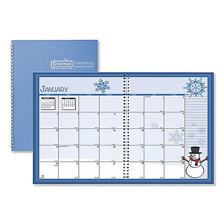 House of Doolittle Seasonal Monthly Planner, 10 x 7, 2021