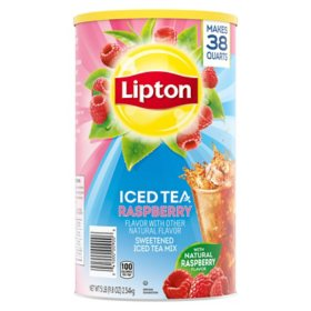 Lipton Raspberry Iced Tea Mix (89.8 oz.)