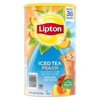 Lipton Sweetened Iced Tea Mix, Peach (89.8 oz.)