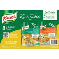 Knorr Rice Sides Variety Pack, Cheddar Broccoli and Chicken (8 pk.)