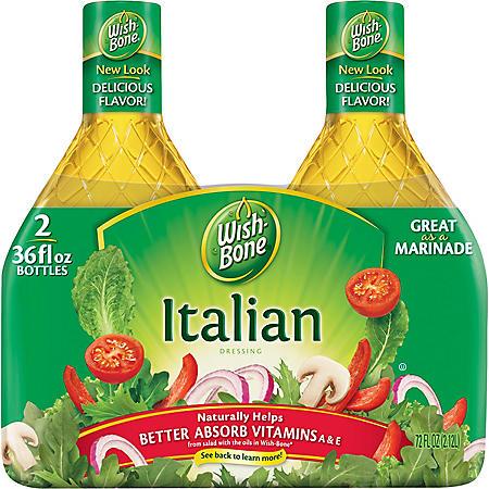 Wish-Bone® Italian Dressing (36 oz., 2 pk.)