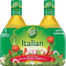 Wish-Bone® Italian Dressing (36 oz., 2 pk.)