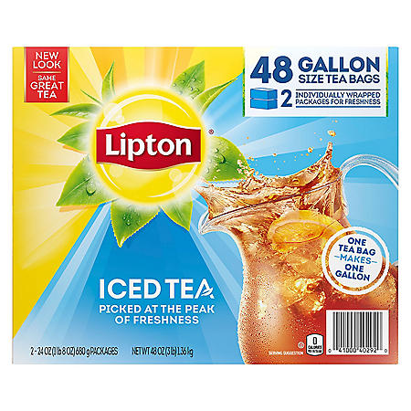 Lipton Iced Tea, Gallon Size Tea Bags (48 ct.)
