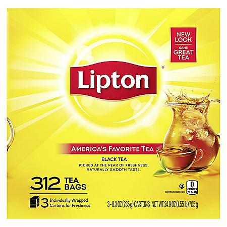 Lipton Tea Bags (312 ct.)