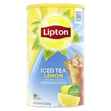 Lipton Lemon Iced Tea with Sugar Mix (95.7 oz. can, makes 38 quarts)