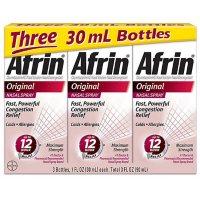 Afrin Original Maximum Strength Nasal Congestion Relief Pump Mist (30 ml., 3 pk.)