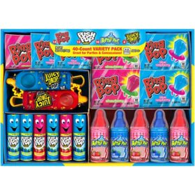 Ring Pop Baby Bottle Lollipop Variety Pack (40 ct.)