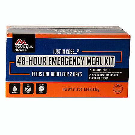 Mountain House Just in Case... 48 Hour Emergency Meal Kit (1 person, 2 days)