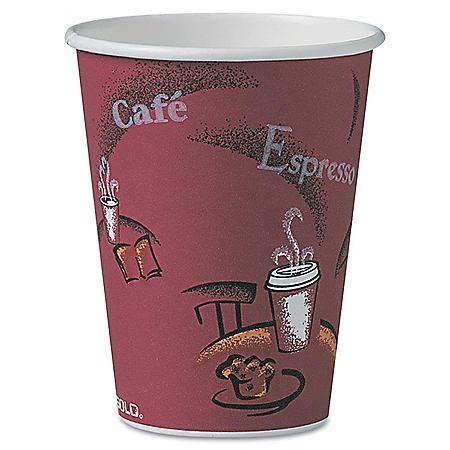 Dart Solo Bistro Design Hot Drink Paper Cups, 12 oz. (300 ct.)