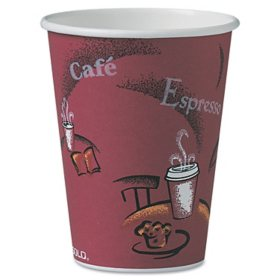 Dart Solo Bistro Design Hot Drink Paper Cups, 12 oz. (300 ct.)