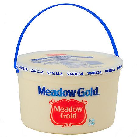 Meadow Gold Vanilla Ice Cream Pail (1 gal.)