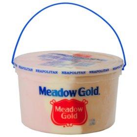 Meadow Gold Neapolitan Ice Cream Pail (1 gallon)