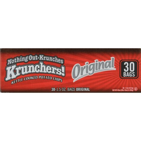 Kruncher's! Original Kettle Chips - 30ct
