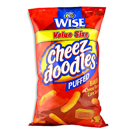 Wise Puffed Cheez Doodles (15 oz.)