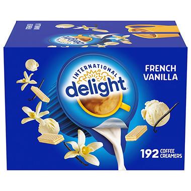 International Delight French Vanilla Creamer 192 Ct