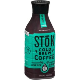 Stok Un-Sweet Black Cold Brew Coffee (48 fl. oz.)