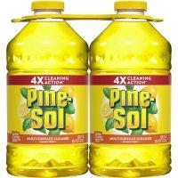 Pine-Sol All Purpose Multi-Surface Cleaner, Lemon Fresh (100 oz. bottles, 2 pk.)