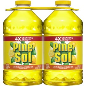 Pine-Sol All-Purpose Cleaner, Lemon Fresh (100 oz. bottles, 2 pk.)