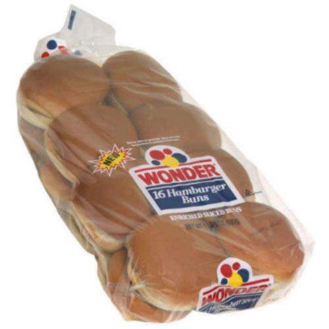 Wonder Hamburger Buns - 16 ct.