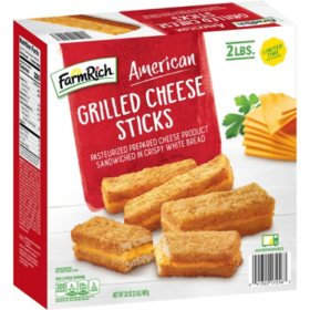 Farm Rich American Grilled Cheese Sticks, Frozen (2 lbs.)