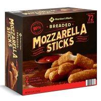 Member's Mark Breaded Mozzarella Sticks, Frozen (72 ct.)