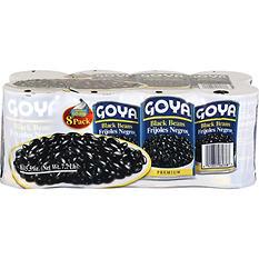 Goya Black Beans (15.5 oz. ea., 8 pk.)