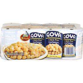 Goya Chick Peas (15.5 oz. ea., 8 pk.)