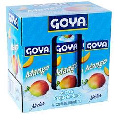 Goya Mango Nectar (33.8 oz ea., 6 ct.)