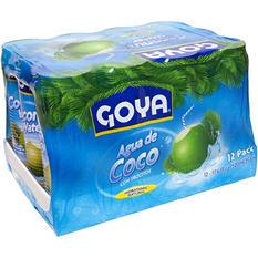 Goya Coconut Water with Pulp (17.6 oz. ea., 12 ct.)