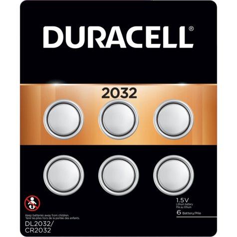 Duracell 2032 Watch Batteries (6 Pk.)
