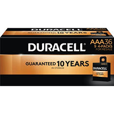 Duracell Coppertop Alkaline AAA Batteries for Resale (36 Pk.)