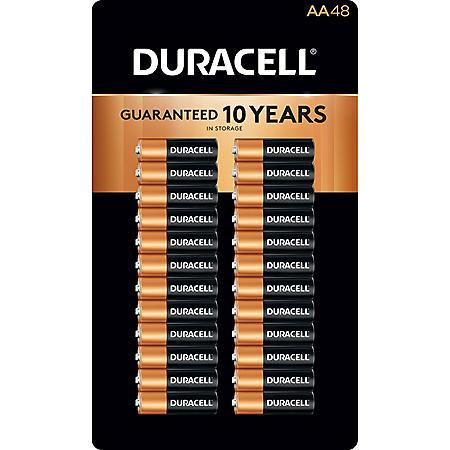 Duracell Coppertop Alkaline AA Batteries (48 pk.)