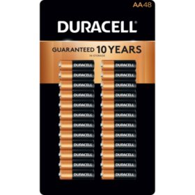 Duracell Coppertop Alkaline AA Batteries (48 pk.)