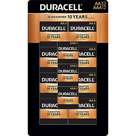 Duracell Coppertop Alkaline AA and AAA Batteries for Resale