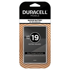Duracell Mobile PowerPack Nano 2500 mAh Backup Battery For Smartphones - Black