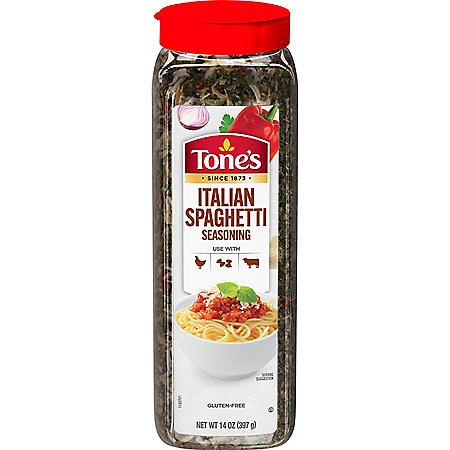 Tone's Italian Spaghetti Seasoning Blend (14 oz.)