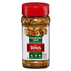 Tone's Cilantro Lime Seasoning (6.75 oz.)