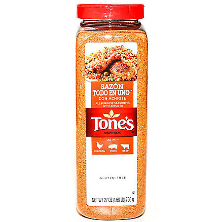 Tone's Sazon All-Purpose Seasoning with Annatto (27 oz.)