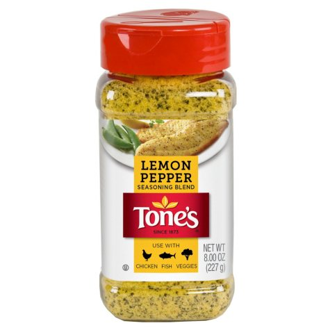 Tone's Lemon Pepper Blend - 8 oz